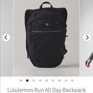 Lululemon Run All Day Backpack *Refelctive